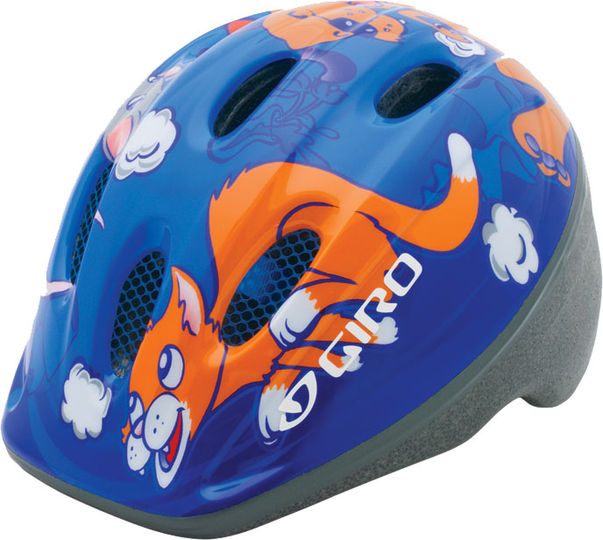 Kask Giro Me2 Blue Dog/Cat/Mouse