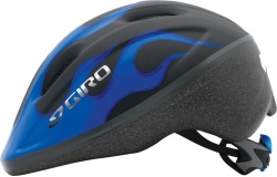 Kask Giro Rodeo Blue Hot Rod Flames